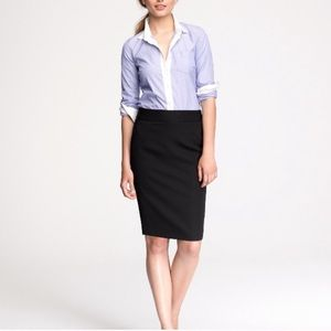 J.Crew women's no 2 pencil wool skirt